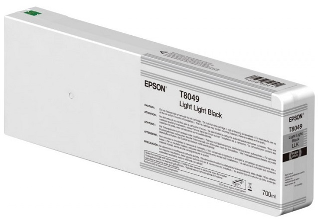 Картридж повышенной емкости со светло-серыми чернилами T8049 (C13T804900) принтер epson surecolor sc p9000 std c11ce40301a0
