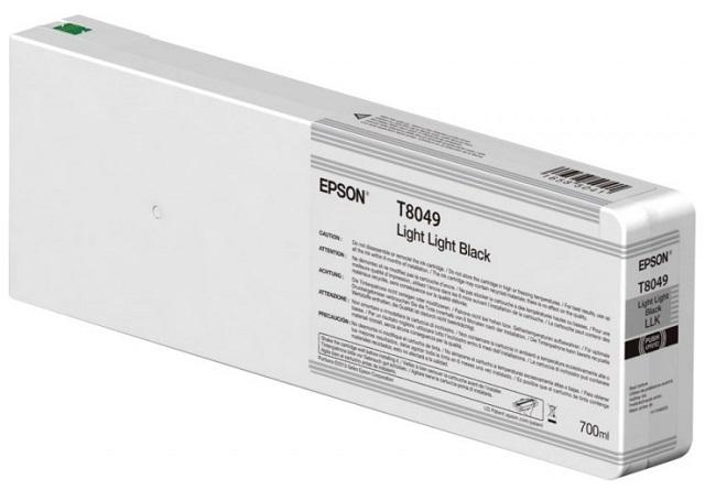 T8049 Light Light Black 700 мл (C13T804900) принтер epson surecolor sc p9000 std c11ce40301a0