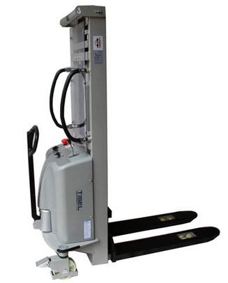 Ручной гидравлический штабелер с электроподъемом Tisel SES 1535