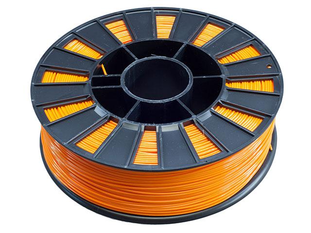 Пластик ABS оранжевый 250гр