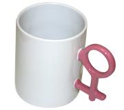Купить Кружка белая с розовой ручкой в официальном интернет-магазине оргтехники, банковского и полиграфического оборудования. Выгодные цены на широкий ассортимент оргтехники, банковского оборудования и полиграфического оборудования. Быстрая доставка по всей стране