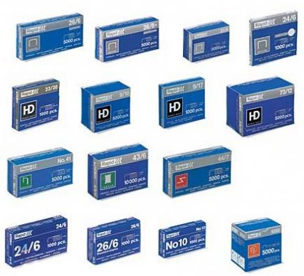 Скобы 9/20 (1000 шт.) (для Rapid) Компания ForOffice 377.000