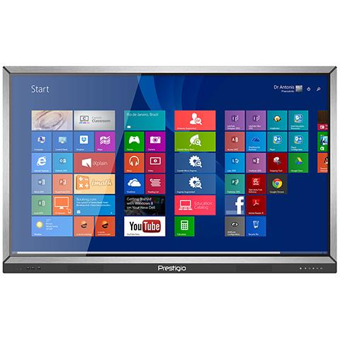 "Интерактивная панель Prestigio MultiBoard S55"" Full HD"