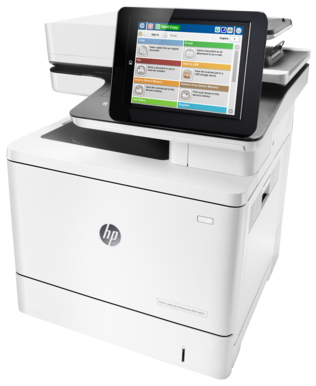 HP Color LaserJet Enterprise M577f (B5L47A) утюгhewlett packard hp color laserjet enterprise m750dn d3l09a