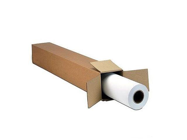 Бумага глянцевая универсальная для сольвентной, экосольвентной, латексной и УФ печати с роллом 76 мм 140 г/м2, 1.270х50 м фотобумага lomond xl matt self аdhesive photo paper самоклеящаяся с роллом 50 8 мм 90 г м2 0 610x20 м