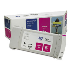 Картридж HP Inkjet Cartridge №81 Dye Magenta (C4932A) картридж для принтера hp 128a ce323a laserjet print cartridge magenta