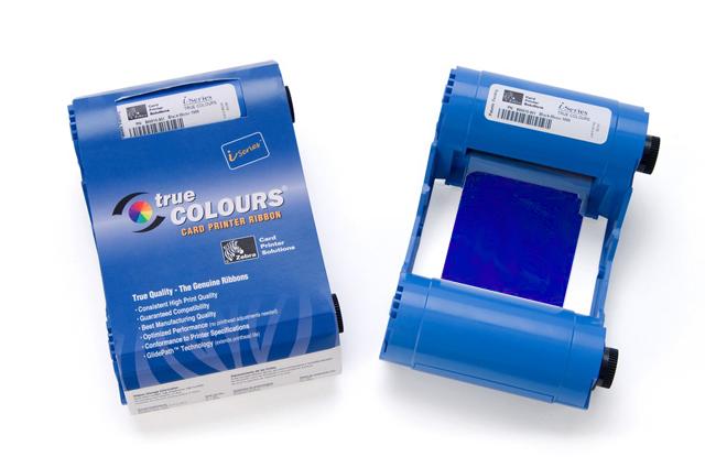Монохромный синий картридж Zebra TrueColours 800015-904