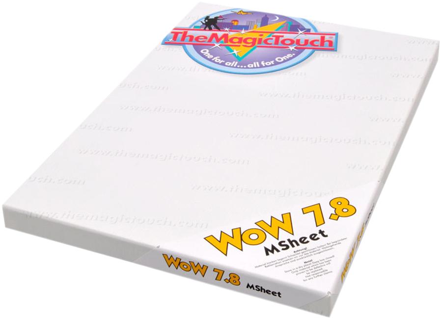 WoW 7.8/100 HD-Msheet A4 XL (Термотрансферная бумага для черного и темного текстиля) the magic touch dct 4 5c a4 термотрансферная бумага для твердых поверхностей