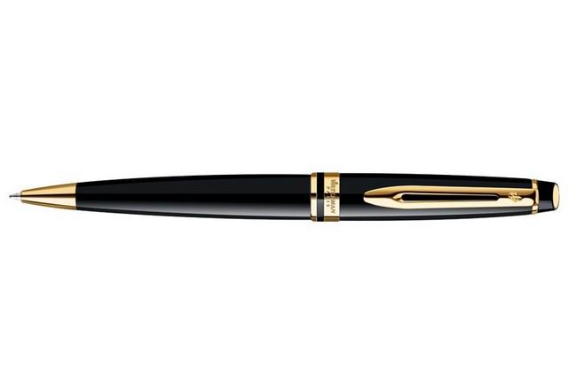 Ручка шариковая Waterman Expert черный лак waterman катридж для ручки short цвет черный 6 шт