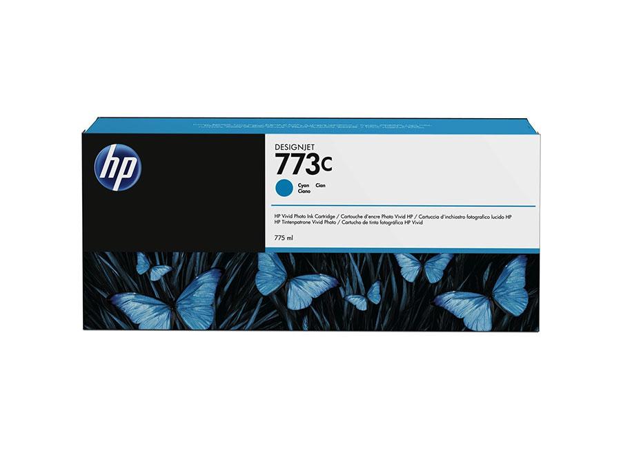 Картридж HP №773C Designjet Cyan 775 мл (C1Q42A) цена