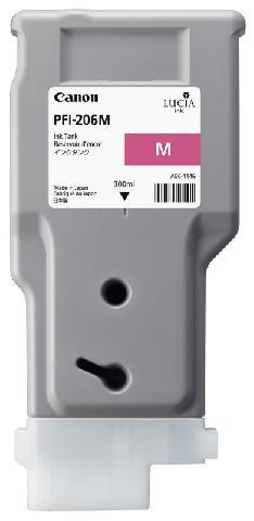 Картридж Magenta PFI-206M (пурпурный) картридж magenta pfi 701m пурпурный пигментный