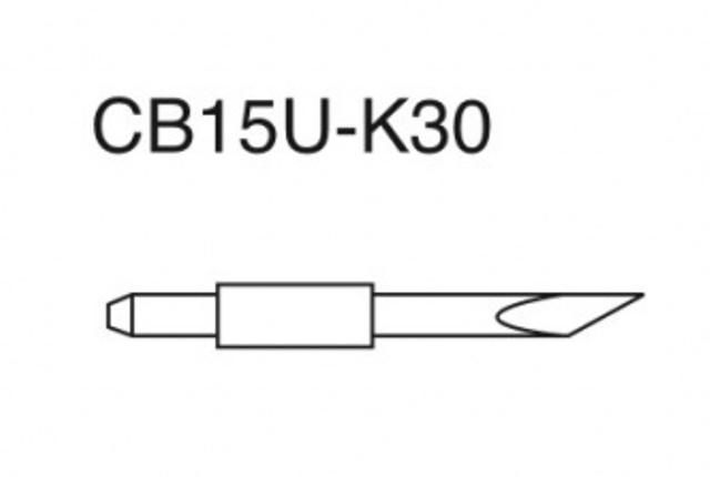 Нож для плоттеров Graphtec для толстых материалов (CB 15U-K30)