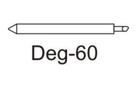 Нож Deg-60 для плотных материалов (угол 60) для плоттеров   (оригинальный)