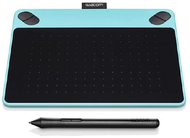 все цены на  Wacom Intuos Comic Blue PT S (CTH-490CB-N)  онлайн