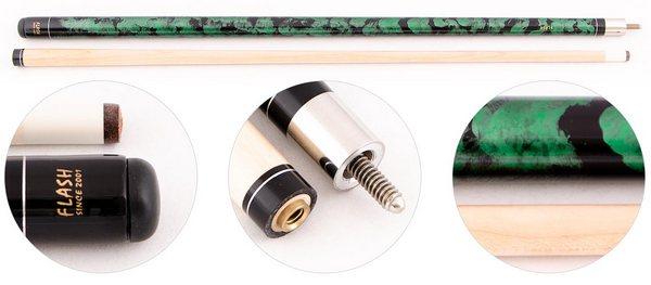 Купить Кий для пула 2-pc Flash Classic  (зеленый) в официальном интернет-магазине оргтехники, банковского и полиграфического оборудования. Выгодные цены на широкий ассортимент оргтехники, банковского оборудования и полиграфического оборудования. Быстрая доставка по всей стране