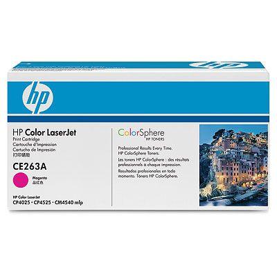 Купить Тонер-картридж HP CE263A в официальном интернет-магазине оргтехники, банковского и полиграфического оборудования. Выгодные цены на широкий ассортимент оргтехники, банковского оборудования и полиграфического оборудования. Быстрая доставка по всей стране