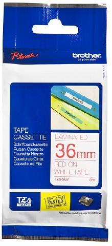 Плёнка для наклеек TZE-262 плёнка для наклеек brother tze 661 чёрный шрифт на жёлтой основе 36мм 8м