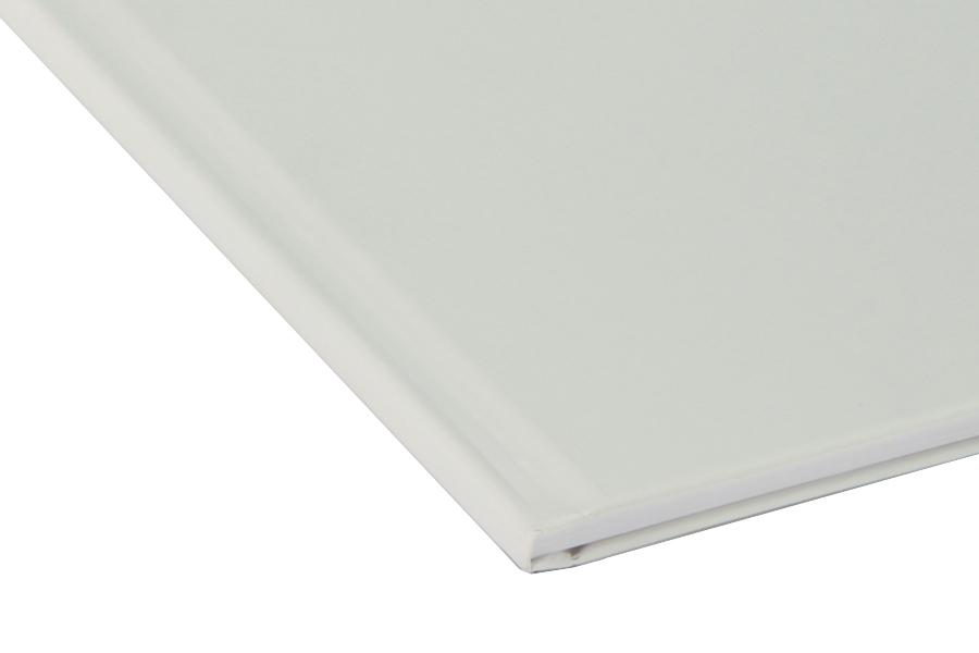 Папка для термопереплета , твердая, 340, белая папки канцелярские centrum папка регистр а4 5 см фиолетовая