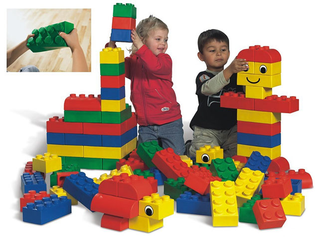 Мягкие кирпичи LEGO Soft (базовый набор)
