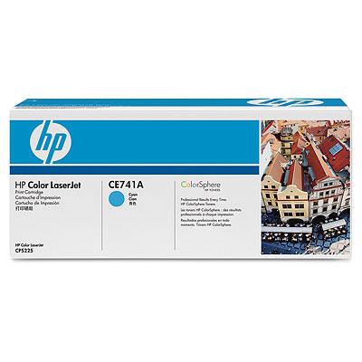 Тонер-картридж HP CE741A hewlett packard hp многофункциональная лазерная аппаратура для печати копии факса сканирования