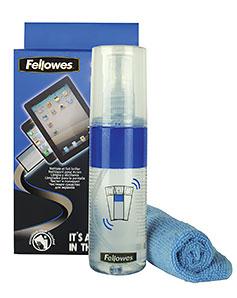 Купить Cпрей Fellowes Clean&Polish для чистки экранов в официальном интернет-магазине оргтехники, банковского и полиграфического оборудования. Выгодные цены на широкий ассортимент оргтехники, банковского оборудования и полиграфического оборудования. Быстрая доставка по всей стране