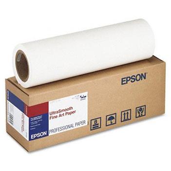 Купить Рулонная бумага Epson UltraSmooth Fine Art Paper 44, 1118мм х 15.2м (250 г/-м2) (C13S041783) в официальном интернет-магазине оргтехники, банковского и полиграфического оборудования. Выгодные цены на широкий ассортимент оргтехники, банковского оборудования и полиграфического оборудования. Быстрая доставка по всей стране