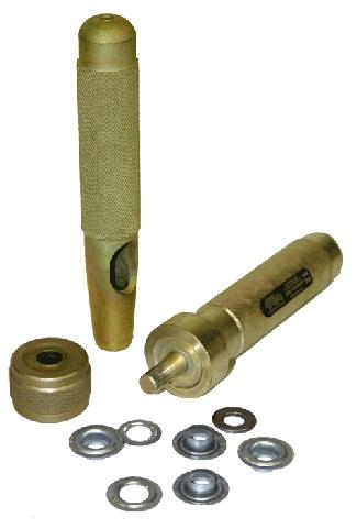 Набор инструментов (3 элемента) для установки люверсов Z16, d - 16 мм Компания ForOffice 1330.000