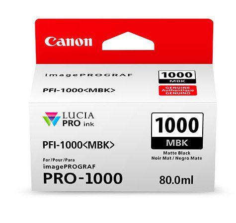 Картридж Canon PFI-1000 MBK (матовый черный)