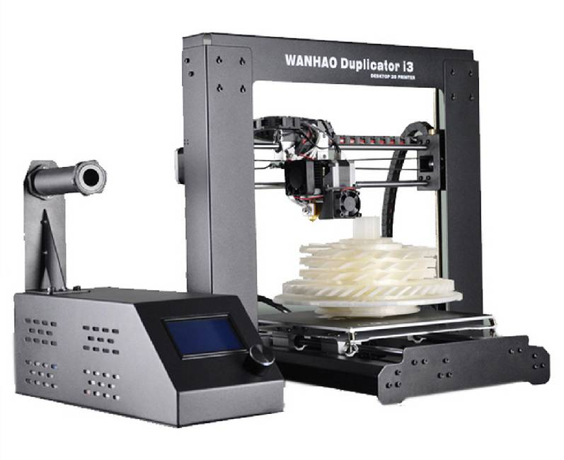 Duplicator i3 v2.1 (без стекла) high precision desktop 3d printers 200 200 200mm printing size fdm technology workbench pla filament sd card and lcd