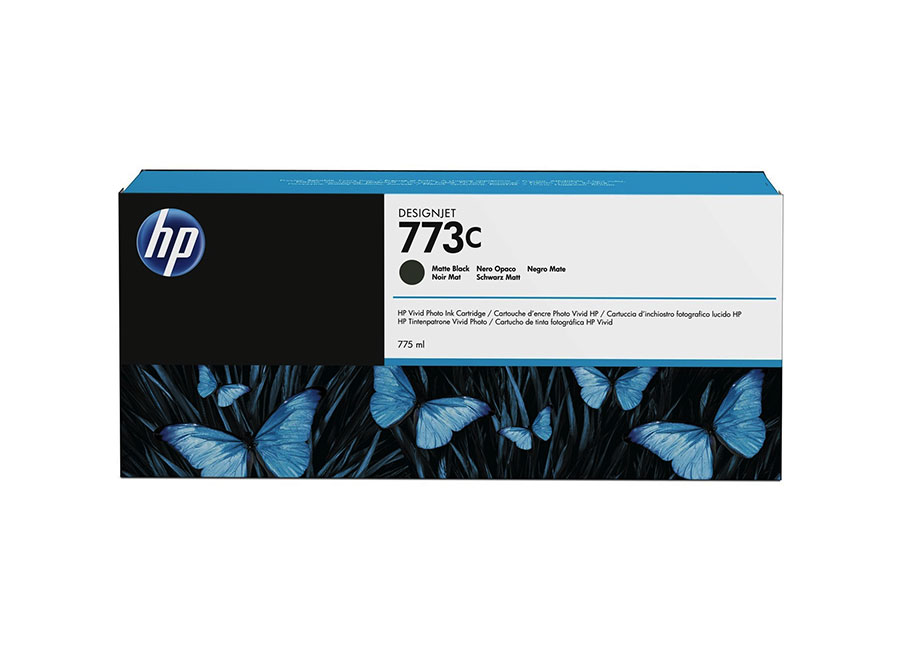 Картридж HP №773C Designjet Matte Black 775 мл (C1Q37A) hot sales 80 printhead for hp80 print head hp for designjet 1000 1000plus 1050 1055 printer