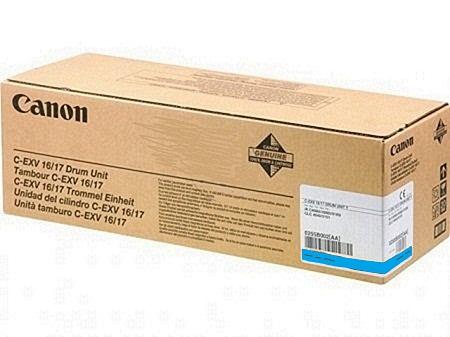 ����������� Canon C-EXV 16/17 cyan (0257B002AA 000)