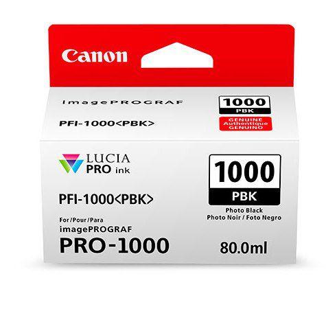 Картридж Canon PFI-1000 PBK (фото черный)