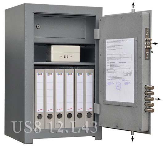 Офисный сейф_Bestsafe US8 12.L43 Компания ForOffice 9198.000