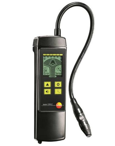 Детектор утечек горючих газов 316-2 со встроенным насосом детектор утечки газа testo 316 2