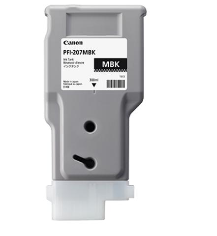 Matte Black PFI-207 MBK (матовый черный) for canon pfi 107 disposable cartridge chip for canon ipf680 ipf685 ipf770 ipf780 ipf785 printer