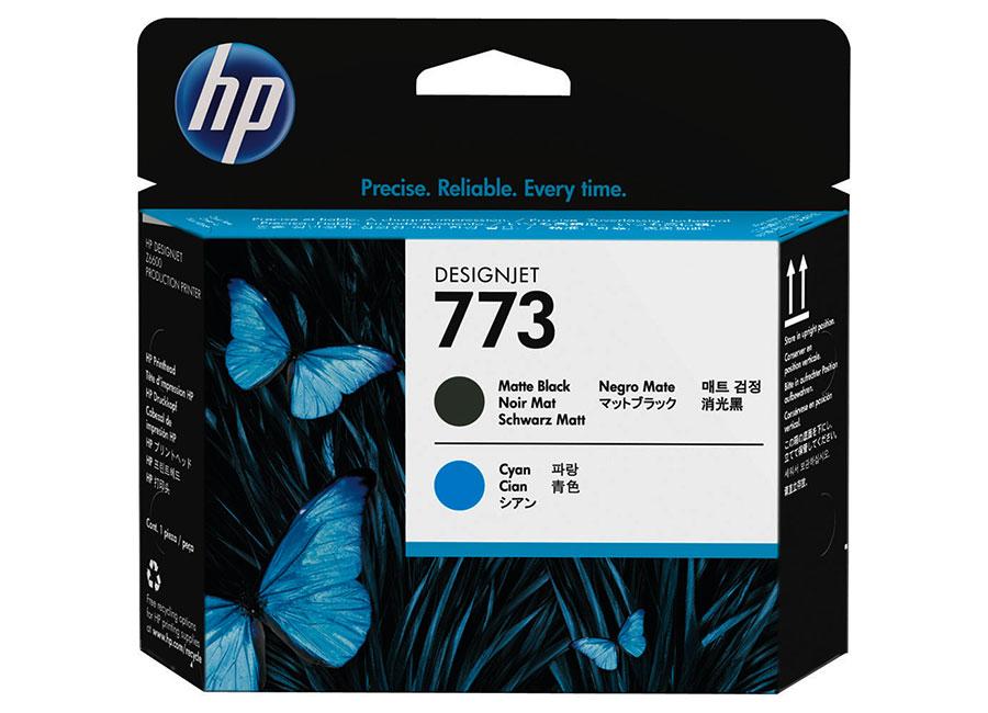 Печатающая головка HP №773 Designjet Matte Black & Cyan (C1Q20A) цена