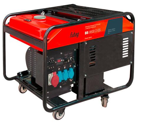 Бензиновый генератор_Fubag BS 9500 D ES от FOROFFICE