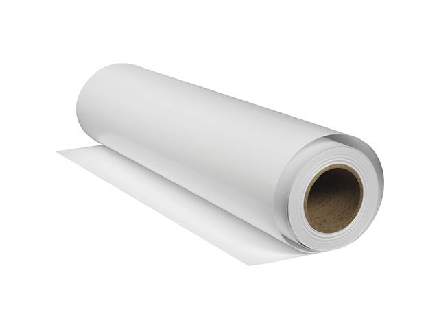 Плёнка XL PET Backlit P Film для внутренней подсветки с роллом 50.8 мм, 125 мкм, 1.067x20 м холст lomond xl natural canvas pigment archive 400 мкм 1 067x10 м