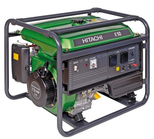 Бензиновый генератор_Hitachi E50