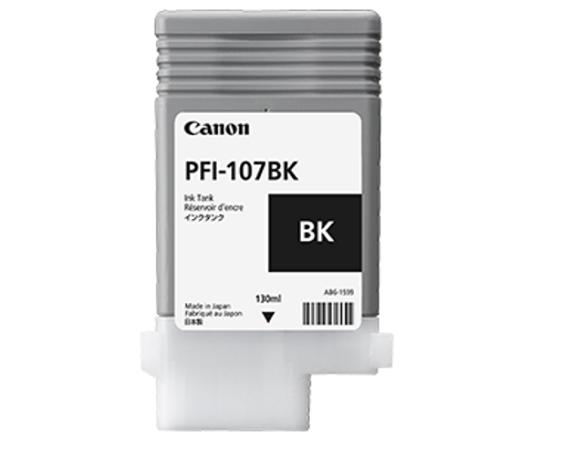 Картридж Canon Black PFI-107 BK (черный)