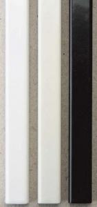Металлические каналы O.Simple Channel А4 297 мм 28 мм, белые