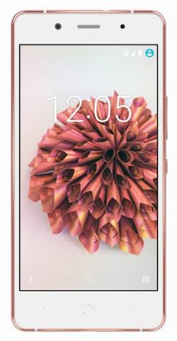 bq Aquaris Х5 Plus (16+2GB) White/Rose gold смартфон meizu u20 32 gb rose gold white