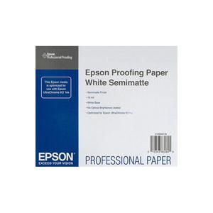 Рулонная бумага_Epson Proofing Paper White Semimatte 17, 432мм х 30.5м (250 г/м2) (C13S042003)