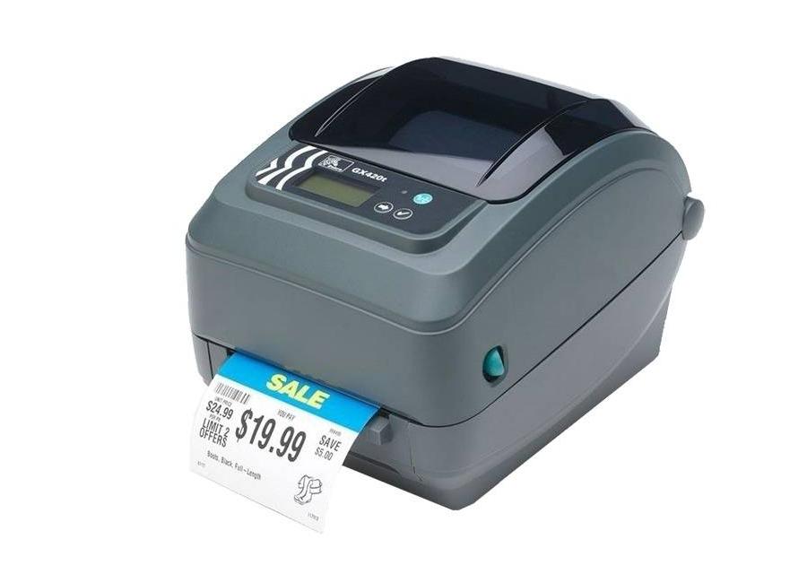 GX420t LCD (GX42-102720-000) принтер этикеток zebra gx420d gx42 202520 000