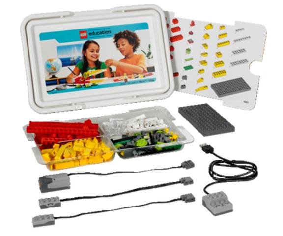 Базовый набор Lego Education WeDo набор lego education первые механизмы 9656 5