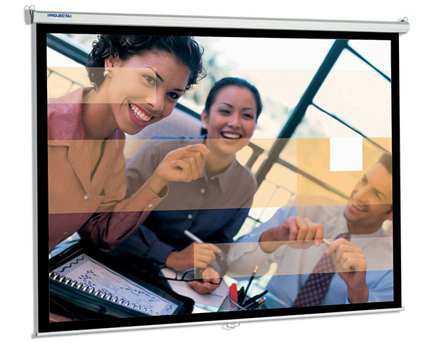 SlimScreen 200x117 Matte White (10200089) slimscreen 200x153 matte white 10200084