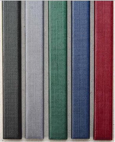 Цветные каналы с покрытием «ткань» O.CHANNEL SLIM А4 304 мм Mini, серый