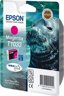 Картридж экстраповышенной емкости с пурпурными чернилами T1033 (C13T10334A10) цены онлайн