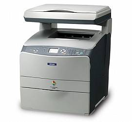 Epson AcuLaser CX11NF with fax (с тумбой)