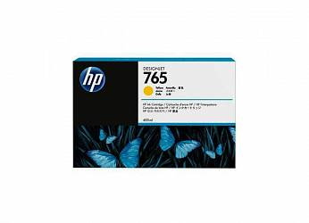 HP DesignJet 765 Yellow 400 мл (F9J50A)